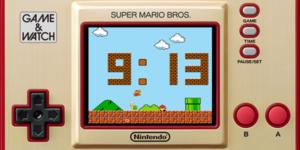 Game & Watch: Super Mario Bros. 35° anniversario Super Mario