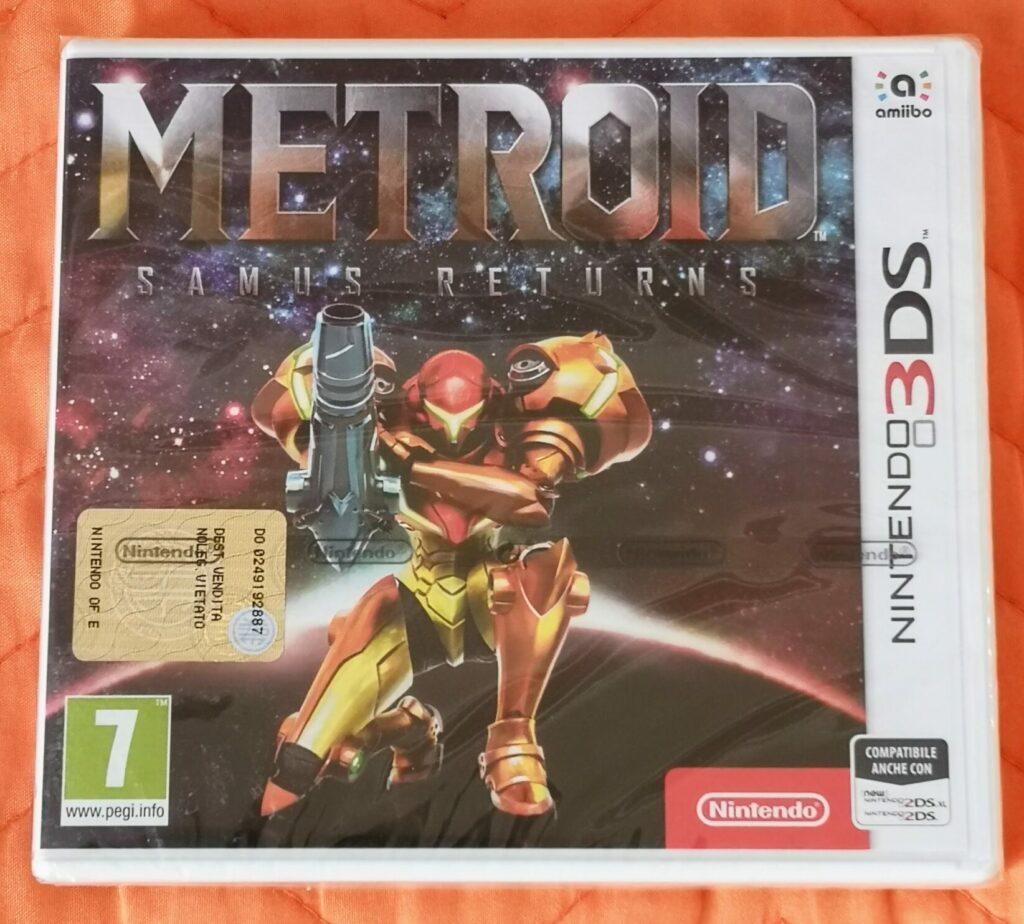 Metroid: Samus Returns, copertina frontale
