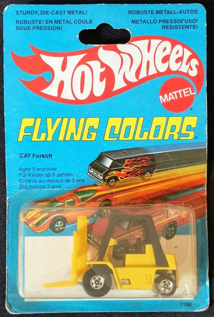 1168 CAT Forklift (1980) front