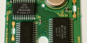 Metroid II: The Return of Samus, scheda di gioco, Printed Circuit Board Vert