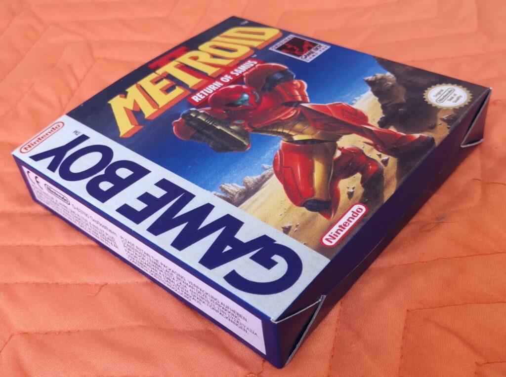 Metroid II: Return of Samus (1992 Nintendo Game Boy), presentazione gioco