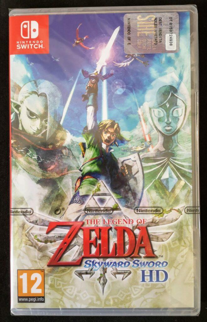 The Legend Of Zelda: Skyward Sword HD, Nintendo Switch 2021, frontale